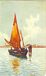 In Tropical Seas, Sailing Vessel