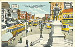 Click here to enlarge image and see more about item p23033: Trolleys Toledo Ohio p23033