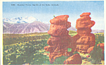 Click here to enlarge image and see more about item p23038: Siamese Twins Garden of the Gods Colorado p23038