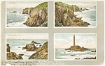 Click here to enlarge image and see more about item p2303: Views of Lands End Postcard