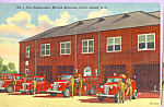 Click here to enlarge image and see more about item p23061: Fire Department,Marine Barracks, Parris Island