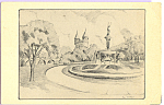 Click here to enlarge image and see more about item p23140: Corning Fountain Hartford Connecticut p23140