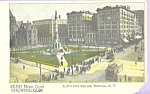 LaFayette Square Buffalo New York Zeno Chewing Gum p23162