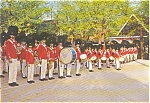 Click here to enlarge image and see more about item p2316: Copenhagen Denmark The Tivoli Guards Postcard p2316