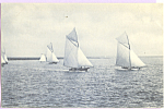 Sailboats Under Way p23176