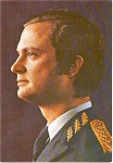 Click here to enlarge image and see more about item p2317: The King of Sweden Postcard p2317