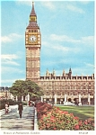 Click here to enlarge image and see more about item p2318: The Houses of Parliament London Postcard