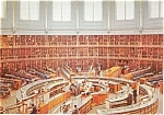Click here to enlarge image and see more about item p2329: British  Museum Reading Room London  Postcard