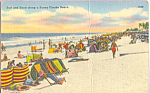 Click here to enlarge image and see more about item p23316: Surf and Sand on a Sunny Florida Beach