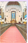 Click here to enlarge image and see more about item p23338: Chapel US Naval Academy Interior Annapolis,Maryland  p23338
