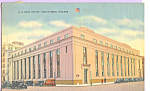 Click here to enlarge image and see more about item p23373: US Post Office  South Bend  Indiana p23373