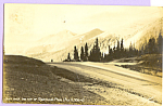 Click here to enlarge image and see more about item p23378: Over the Top of Berthoud Pass Colorado p23378