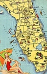 Click here to enlarge image and see more about item p23410: State Map of Florida