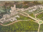 Duke University Durham NC Hand Colored Postcard p23413