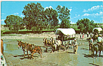 Click here to enlarge image and see more about item p23440: Kansas Authentic Covered Wagons p23440