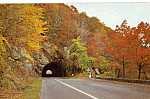 Click here to enlarge image and see more about item p23503: Mary s Rock Tunnel Skyline Drive Virginia p23503