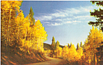 Aspens st Sundown Postcard p23523