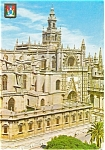 Sevilla Spain The Cathedral  Postcard p2352