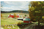 Red Barn Postcard p23531