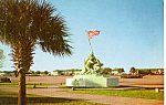 Click here to enlarge image and see more about item p23545: Iwo Jima Monument,Parris Island South Carolina p23545