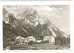 Cortina Italy Majestic Hotel Postcard