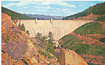 Click here to enlarge image and see more about item p23570: Hungry Horse Dam Montana
