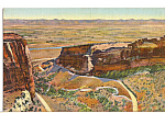 Click here to enlarge image and see more about item p23613: Fruita Canon Colorado National Monument p23613