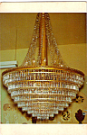 Click here to enlarge image and see more about item p23614: Chandelier Central City Colorado p23614