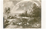 Click here to enlarge image and see more about item p2362: Rubens Landschatt mit Regenbogen Postcard