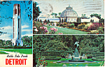 Click here to enlarge image and see more about item p23635: Belle Isle Park Detroit MI p23635