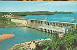 Click here to enlarge image and see more about item p23646: Bagnell Dam,Lake of the Ozarks,Missouri