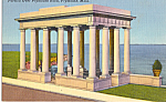 Portico over Plymouth Rock Plymouth Masaschusetts