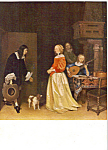 The Suitor s Visit Ter Borch Postcard p23679