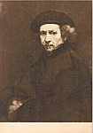 Self Portrait Rembrandt Postcard p23688