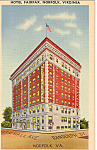Hotel Fairfax, Norfolk, Virginia