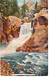 Click here to enlarge image and see more about item p23729: Boulder Falls Boulder Canon Boulder Colorado p23729