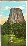 Click here to enlarge image and see more about item p23742: Devil's Tower National Monument, Wyoming