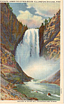 Lower Falls of the Yellowstone,Yellowstone Park