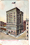 Click here to enlarge image and see more about item p23759: Chamber of Commerce Building, Detroit, MIchigan