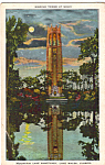 Click here to enlarge image and see more about item p23767: Singing Tower Lake Wales Florida p23767