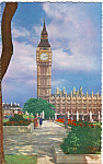 Click here to enlarge image and see more about item p23771: Big Ben and Parliament Square London England p23771
