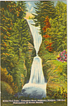 Click here to enlarge image and see more about item p23790: Bridal Veil Falls, Columbia River Highway