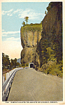 Click here to enlarge image and see more about item p23793: Oneonta Bluffs, Columbia River Highway