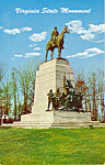 Click here to enlarge image and see more about item p23797: Virginia State Monument,Gettysburg National Park