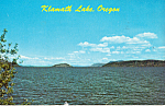 Klamath Lake, Oregon