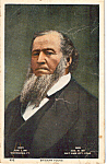 Click here to enlarge image and see more about item p23844: Brigham Young Postcard p23844