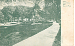 Click here to enlarge image and see more about item p23893: Grand Circus Park Detroit Michigan p23893