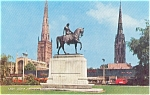 Click here to enlarge image and see more about item p2394: Broadgate Coventry Lady Godiva Postcard p2394