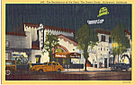 Click here to enlarge image and see more about item p23950: The Brown Derby Hollywood,California