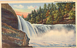 Click here to enlarge image and see more about item p23962: Cumberland Falls Kentucky p23962